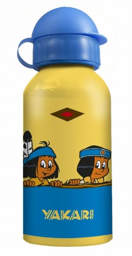 p:os handels 67999 Yakari Aluminium-Trinkflasche