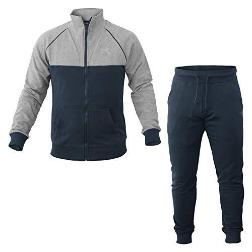 Diadora Unbrushed FC Survêtement Homme, Bleu, FR : S (Taille Fabricant : S)