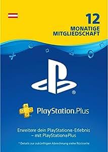 PlayStation Plus Mitgliedschaft | 12 Monate | PS4 Download Code - österreichisches Konto