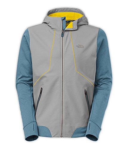 The North Face Men's Kilowatt Jacket (Monument Grey / Diesel Blue, XX-Large)