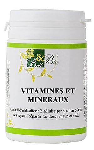 Multi-Vitamines & Minéraux - 200 gélules - BELLE ET BIO