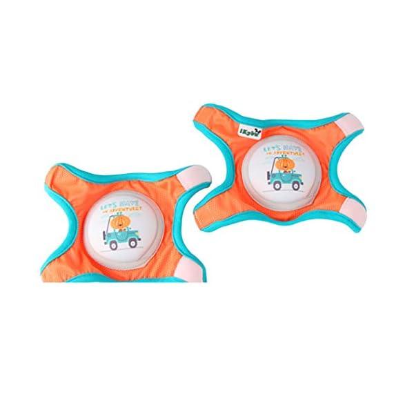 Kapmore Rodillera Para Bebé Antideslizante Transpirable Gorra De Gateo Protector De Rodilla 2
