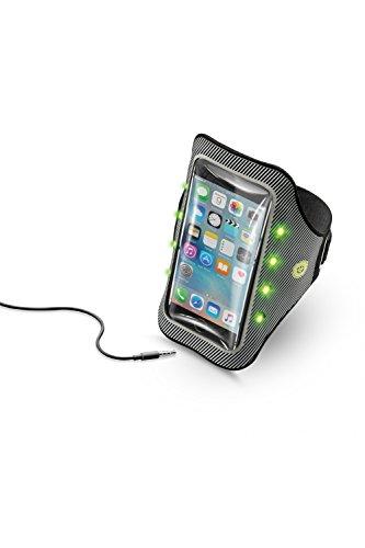 Cellularline Armband Running Light funda teléfono