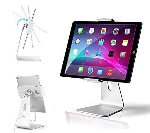 AboveTEK Eleganter Tablet Stand, Aluminium IPad Stand Halter, Desktop Kiosk  POS Ständer Für 7