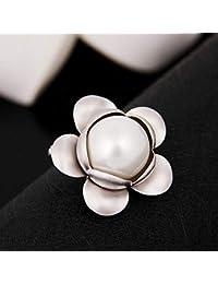 CLLCR Gioielli in Lega di Spilla Spilla per Fiori di Perle Abbigliamento  Spilla Selvaggia Accessori di Abbigliamento… ae5c150e3ac9