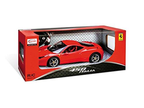 MONDO MOTORS-63118-Fahrzeug Miniatur ferngesteuert-RC Ferrari 458Italia-Echelle 1/14