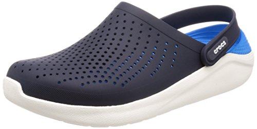 Crocs 204592, zoccoli donna black/white, blu (navy/white), 42.5 eu