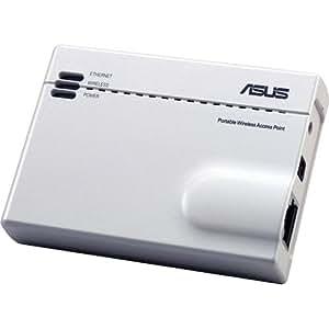 Asus WL-330GE 54Mbps Pocket/Poratbel DSL Router with carry case
