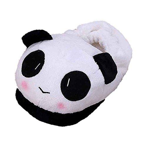 Sodial® - pantofole termiche da donna, invernali, calde, morbide, in peluche, per casa, motivo: panda