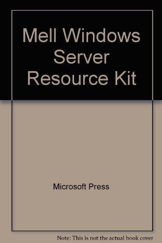 Mell Windows Server Resource Kit