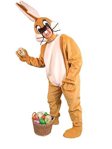 Hasenkostüm - Tierkostüm Hase Osterhase Bunny braun