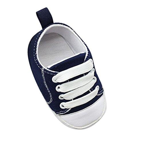 Converse-krippe-schuhe (ROPALIA S?uglingsbaby weichen Boden Rutschfeste Schuhe Krippe Schuhe)