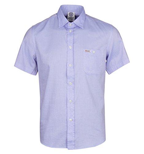 Franklin-Marshall-Hollywood-Original-Blue-Shirt-LARGE