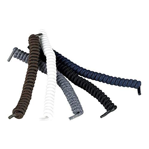 Homecraft Spiral-Schnürsenkel, Schwarz