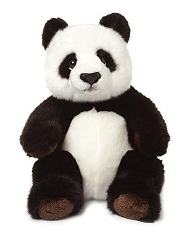 WWF Plüsch Kollektion WWF00542 - Plüschfigur Panda Sitzend 22 cm, Plüschtiere
