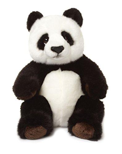 WWF 344999-4 Oso panda de juguete Felpa Negro, Blanco juguete de peluche - Juguetes de peluche (Oso panda de juguete, Negro, Blanco, Felpa, Panda, China, 220 mm)