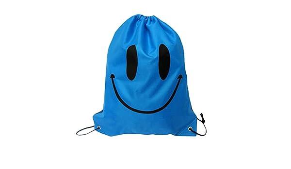 Bleu Durable Pratique 41cm x 33cm Sacs de Natation Sac de Plage /à Cordon Sport Gym Backpack Swim Dance FRjasnyfall