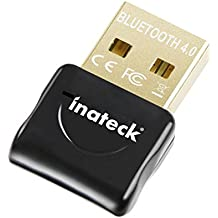 Inateck BTA-BC4B6 - Adaptador de red (Bluetooth, USB 4.0, LED, Wake-Up), color negro