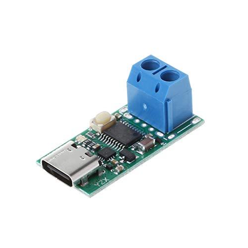JENOR Typ-C-USB-Schnellladegerät Detector Trigger Poll Mudule PD 5A 9 V / 12 V / 15 V / 20 V Automatischer Test