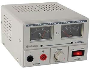Alimentation de laboratoire réglable Velleman PS 1502A 0 - 15 V/DC 2 A