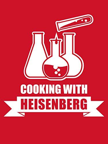 clothinx Herren T-Shirt Cooking with Heisenberg Rot