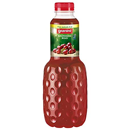 Granini Ar ndano rojo Zumo de frutas 1000 ml Pack de 6 Total 6000 ml