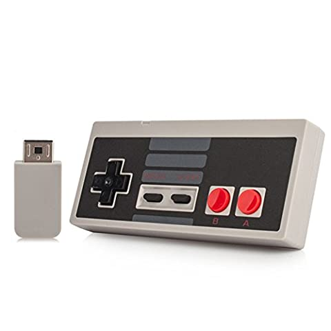 3rd Party NES Classic Mini Wireless Rechargeable Controller (Nintendo Entertainment System)