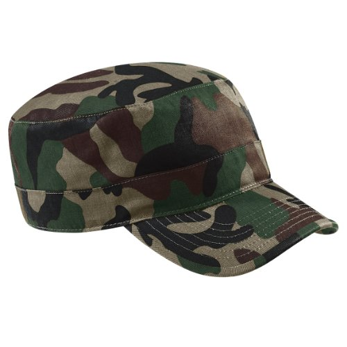 Beechfield Camouflage Army Cap, Jungle one size,Jungle