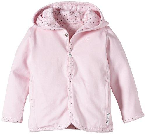 Noppies Baby - Mädchen Strickjacke G Cardigan Jersey Rev Amy, Einfarbig, Gr. Neugeborene (Herstellergröße: 56), Rosa (Light Rose)