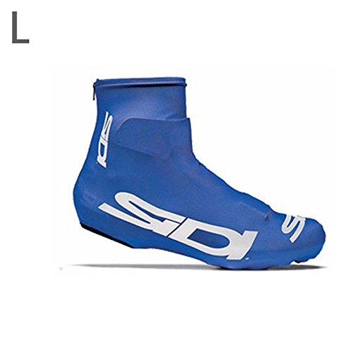 wlgreatsp Cubierta para Zapatos de Bicicleta Resistente al Desgaste, Antideslizante a Prueba de Agua Múltiples Colores Disponibles