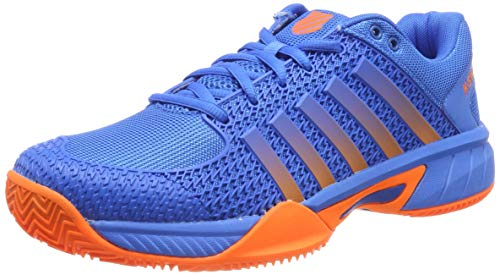 K-Swiss Performance Express Light HB Scarpe da Tennis Uomo, Blu (Brilliant Blue/Neon Orange 427M) EU