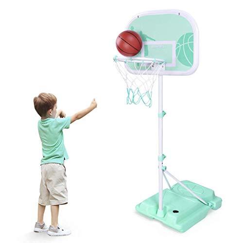 Instag Basketballständer für Kinder Kann Heben Drinnen und draußen 3-10 Jahre alt Bodenaufnahmen im Freien Baby Spielzeug Basketball Box,170Meter