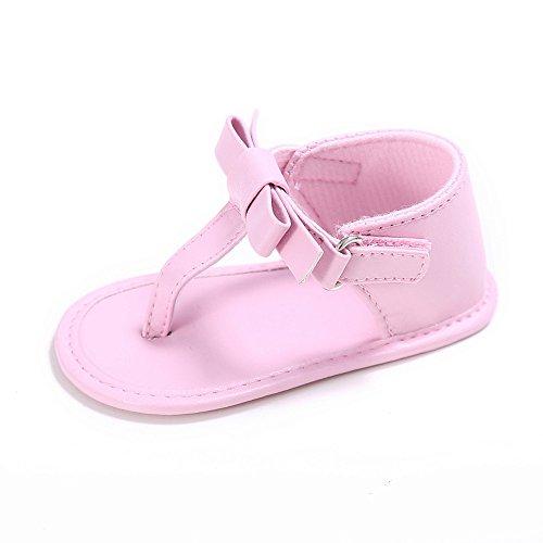 Preisvergleich Produktbild Vovotrade Baby-Quaste Sandalen Kleinkind -Prinzessin erste Wanderer Mädchen Kid Schuhe (Size:12, Rosa)