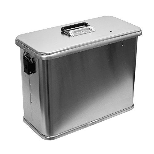 Motorradkiste Transportbox Motorradbox 32 L - C32 Motorradkoffer Kiste Gepäck Koffer Gepäckträger Aluminiumkiste Vollaluminiumbox