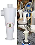 Barlingrock 1Pc High Efficiency Cyclone Vacuums Cleaner Filter Powder Dust Collector for Dog/Home/Animal