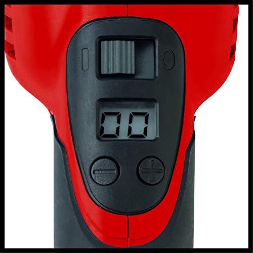 Einhell Winkelpolierer CC-PO 1100/1 E (1.100 W, 1.000-3.500 min-1 Drehzahl, 180mm Scheiben-ø, Soft Start, Spindelarretierung, umfangreiches Zubehör)