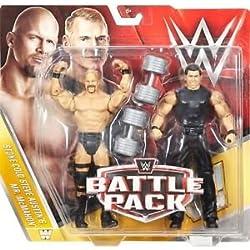 MR. MCMAHON & STONE COLD STEVE AUSTIN - WWE BATTAGLIA CONFEZIONI 40 WWE GIOCATTOLO WRESTLING ACTION FIGURE 2 PEZZI