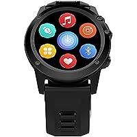 Leotec Smartwatch Adventure Swim -  Smartwatch,GPS real,Pulsometro,Altimetro,Android,Sim 3G,Camara incorporada, monitor de actividad, Compatible Android/IOS y notificaciones inteligentes, color Negro