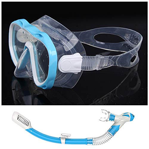 Syfinee Schwimmbrille mit Antibeschlag, klar und breit, für den Sommer Blau - Sky Blue