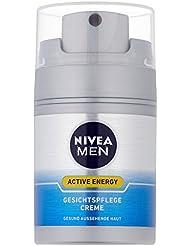 NIVEA Men, Gesichtspflege Creme für Männer, 50 ml Spender, Active Energy