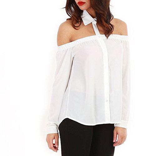 la-modeuse-camicia-donna-bianco-taglia-unica