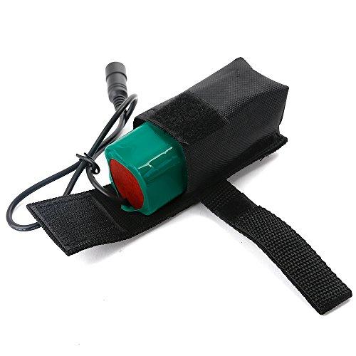Zogin Module Batterie avec sac pour le phare de vélo 8800mAh 8.4V Batterie remplacement ICR18650 batteries (4pcs) pour lampe de cyclisme
