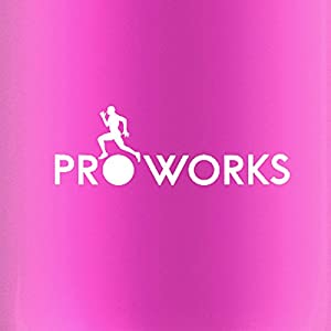 Proworks Stainless Steel Water Bottle, BPA Free Vacuum Insulated Metal Water Bottle for 12 Hours Hot & 24 Hours Cold Drinks, Sports Flask Great for Work, Gym, Travel - 500ml / 750ml/ 1 Litre