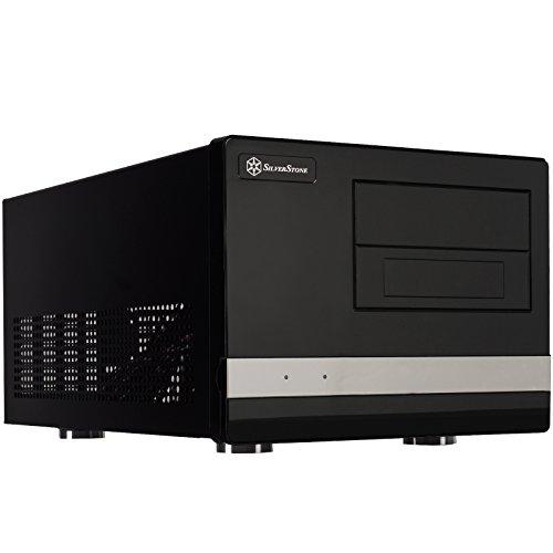 SilverStone SST-SG02B-F USB 3.0 - Sugo Micro ATX Cube Gehäuse, schwarz