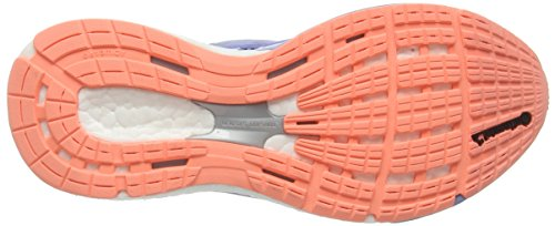 adidas Adizero Tempo 8 Ssf, Chaussures de Running Compétition Femme Bleu - Blue (Prism Blue F13/Sun Glow S16/Raw Purple S16)