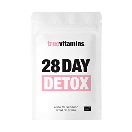 28 DAY DETOX Bio-Tee by truevitamins. Der perfekte Begleiter bei einer vierwöchigen Diät, Fasten- und Reinigungskur. Hergestellt in Deutschland.