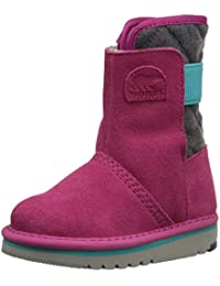 Sorel CHILDRENS NEWBIE - botas de nieve cn forro y caña corta de cuero Niños^Niñas