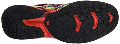 Salomon Scarpe Maschili per la Corsa e Trail Running Wings Flyte 2 GTX Nero (Black/fiery Red/red Dalhia Black/fiery Red/red Dalhia)