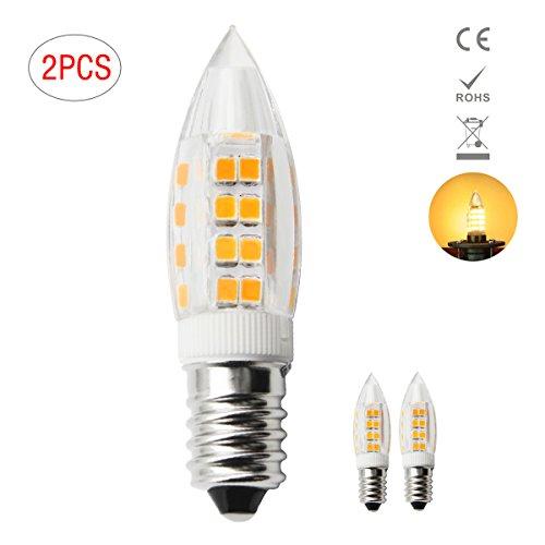 Preisvergleich Produktbild 1819 Neue Typ E14 LED Leuchtmittel 3W Entspricht 40W Halogenlampe  Warm Weiß 3000K (2 Stück) [Energieklasse A+]