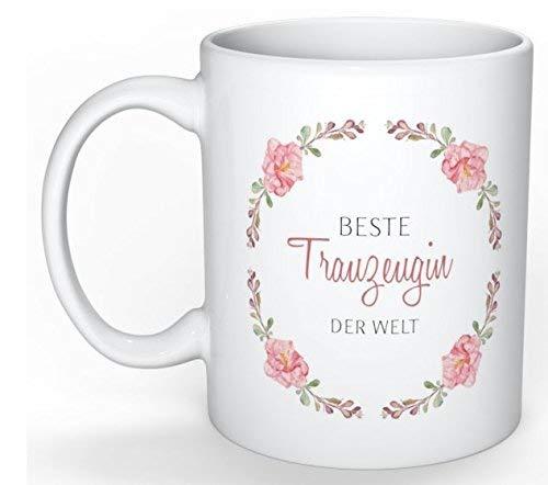 Princess Dreams Tasse Trauzeugin der Welt Vintage Geschenk Idee Hochzeit (Ideen Geschenke Hochzeit)